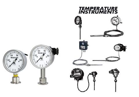 Temperature And Pressure Measuring Instruments
